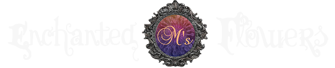 M's Enchanted Flowers Logo