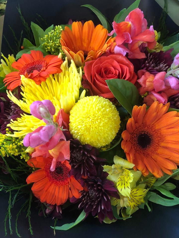 Fresh Flower Bunch $65 -1
