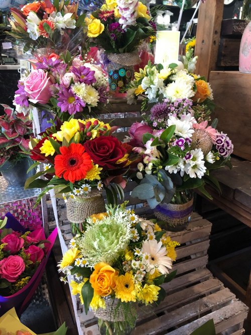 Fresh Flower Mason Jar